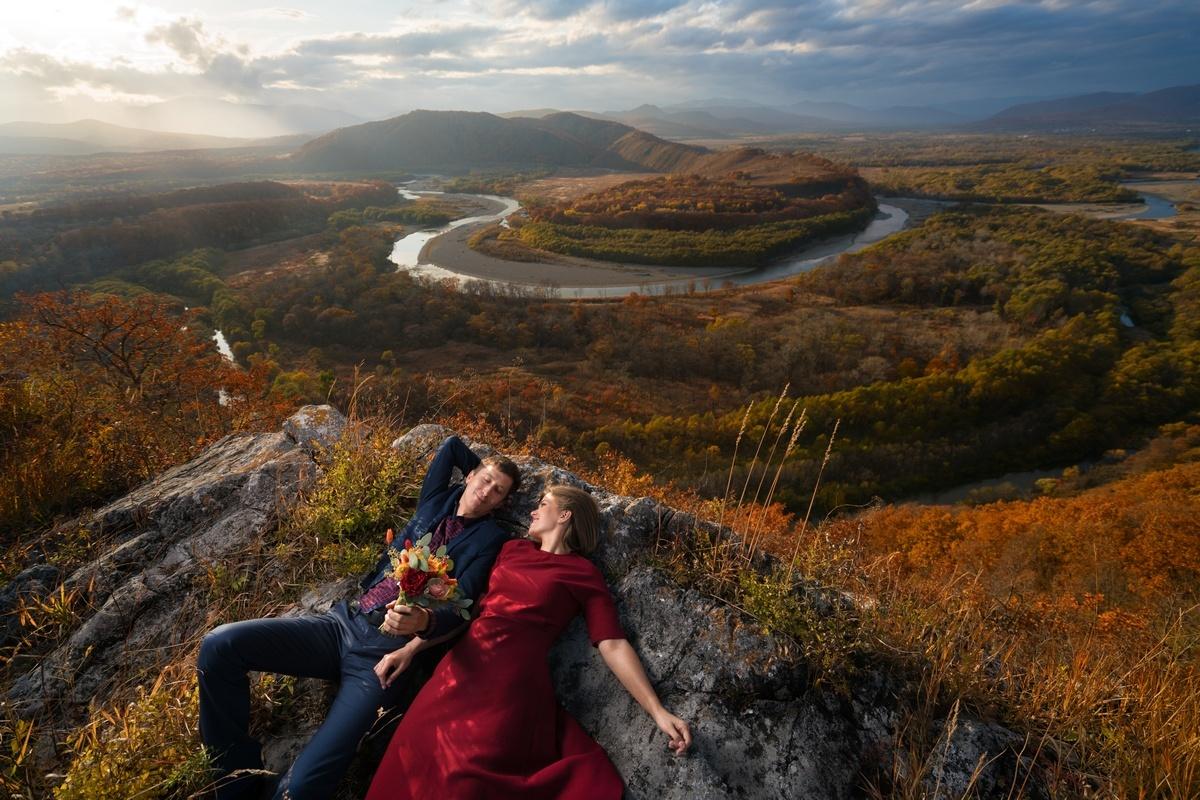 Осенняя сказка Ксюши и Алексея